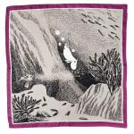 Lasessor Sukellus silk scarf plum