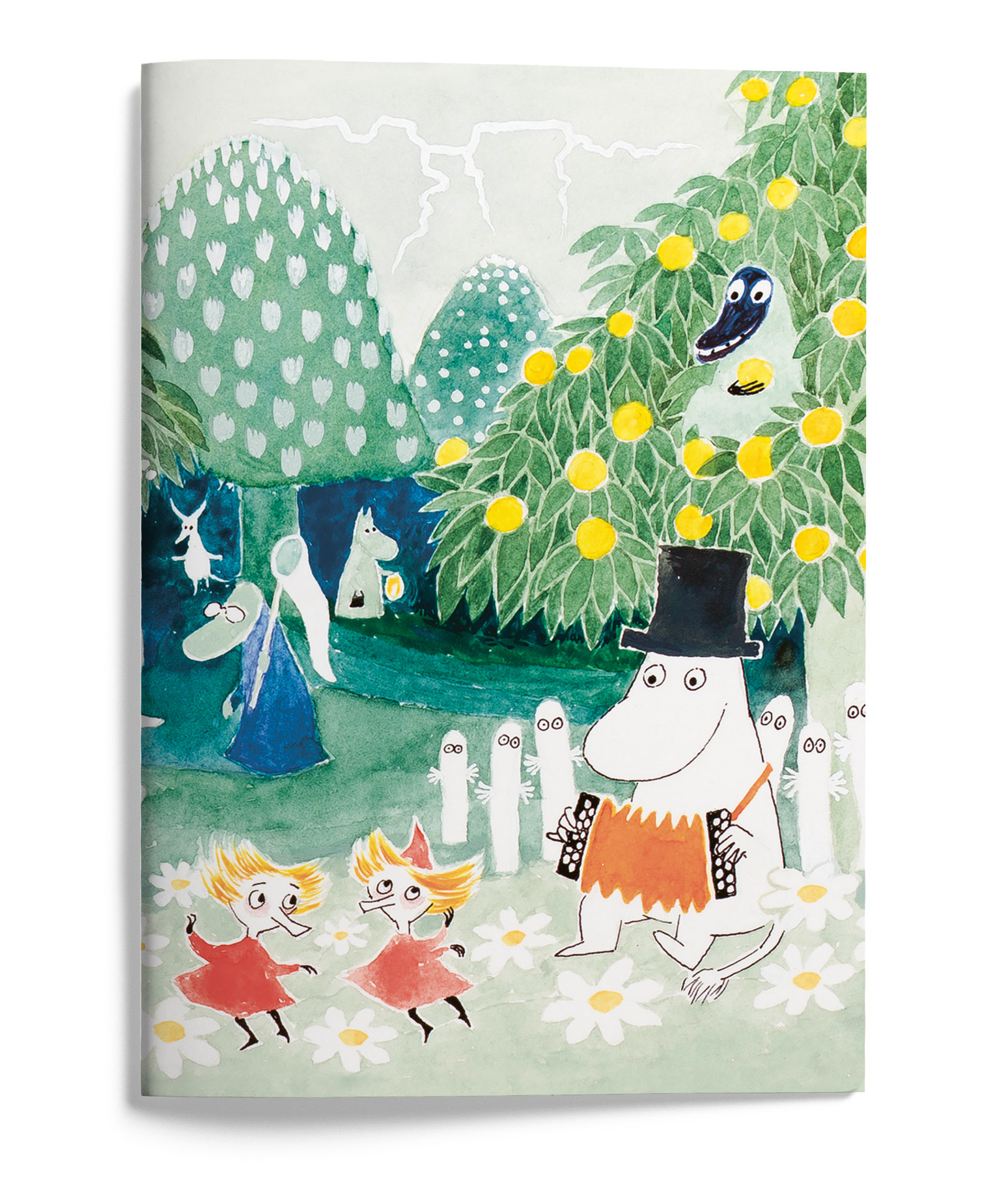 Putinki Softcover Notebook A5 Finn Family Moomintroll