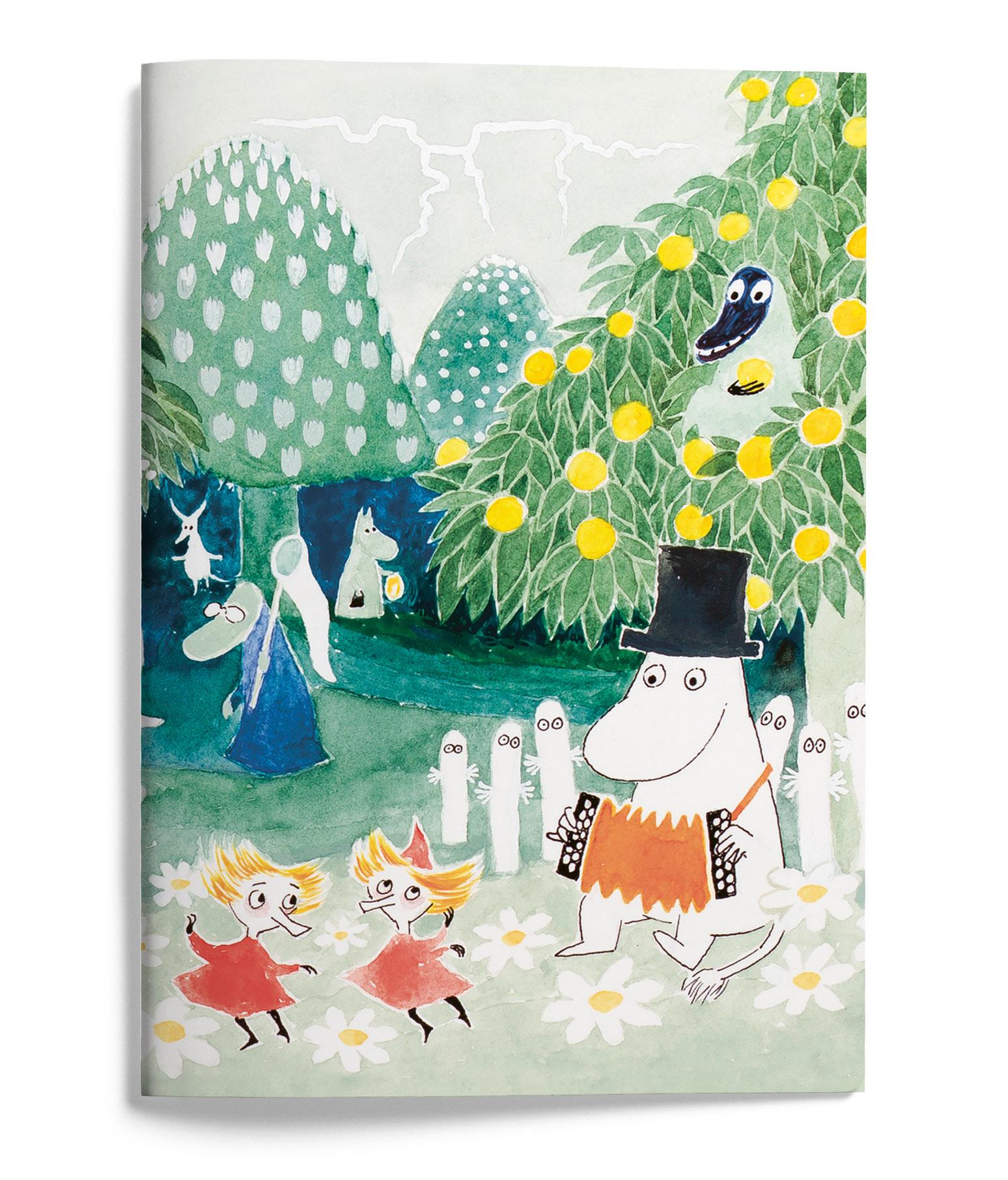 Putinki Softcover Notebook A5 Finn Family Moomintroll