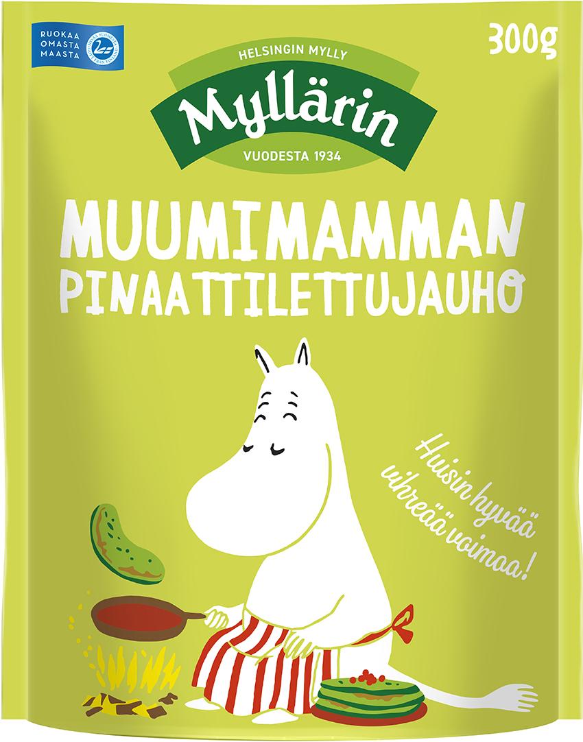 Myllärin Moominmamma's Spinach Pancake Mix