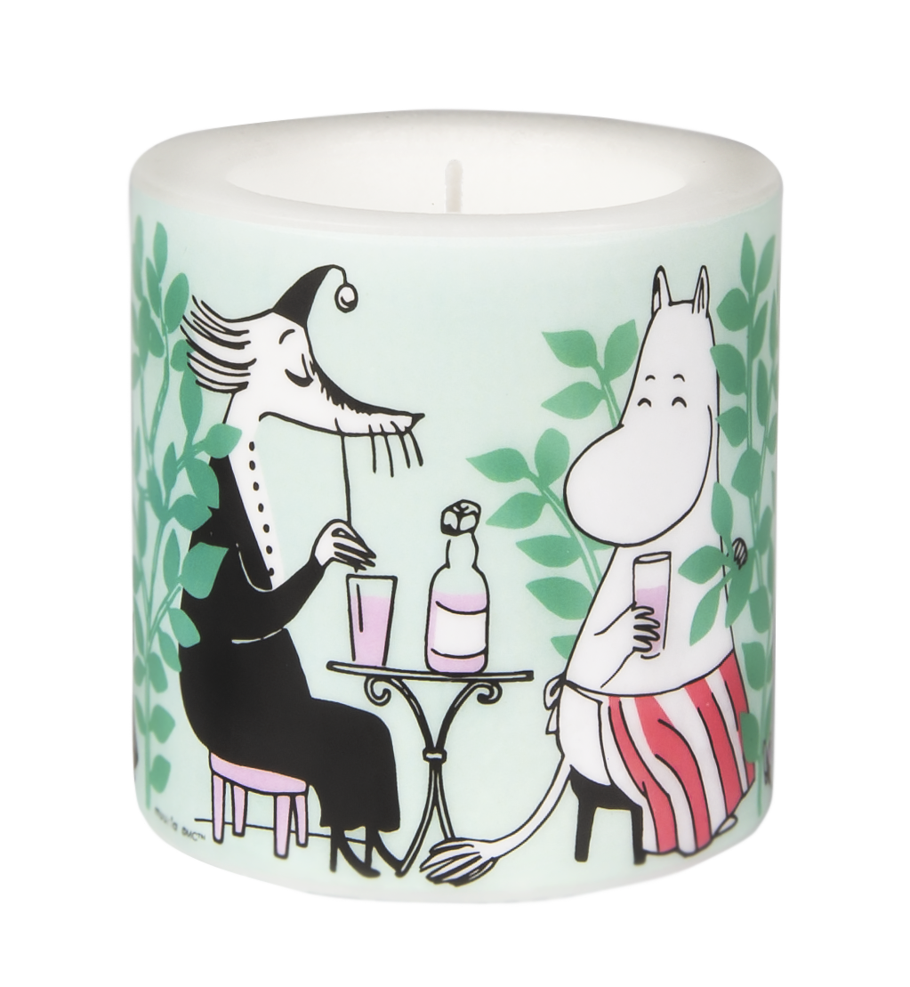 Muurla Moomin Garden - Day in the garden candle 8 cm