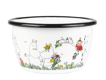 Muurla Moomin Colors - Happy family enamel bowl 3 dl