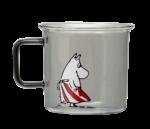 Moomin Originals by MuurlaMoominmamma glass mug 3,5 dl grey