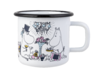 Moomin by Muurla Date Night enamel mug 3,7 dl