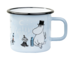Muurla Moomin Day on ice enamel mug 3,7 dl