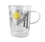 Muurla glass mug for hot drinks 2,7dl Moomin Forest