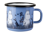Muurla enamel mug 2,5dl Friends, Moomin