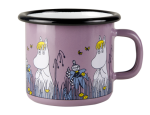 Muurla enamel mug 2,5dl Friends, Snorkmaiden