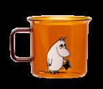 Moomin Originals by MuurlaMoominpappa glass mug 3,5 dl amber
