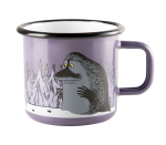 Muurla enamel mug 3,7dl Groke purple
