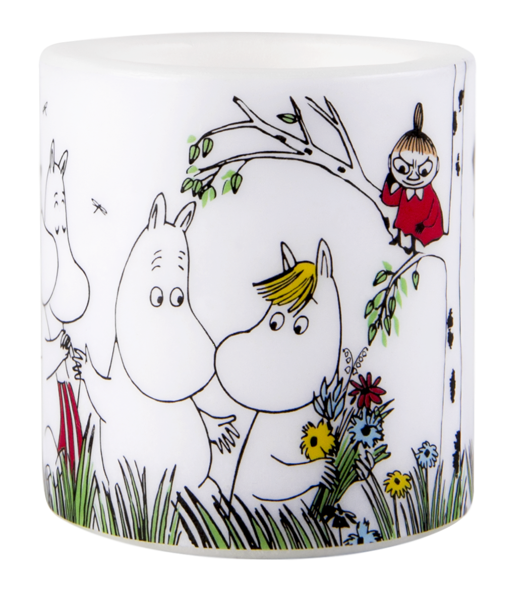 Muurla Moomin Happy Family candle 8cm