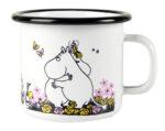 Muurla Moomin Hug enamel mug 2,5 dl