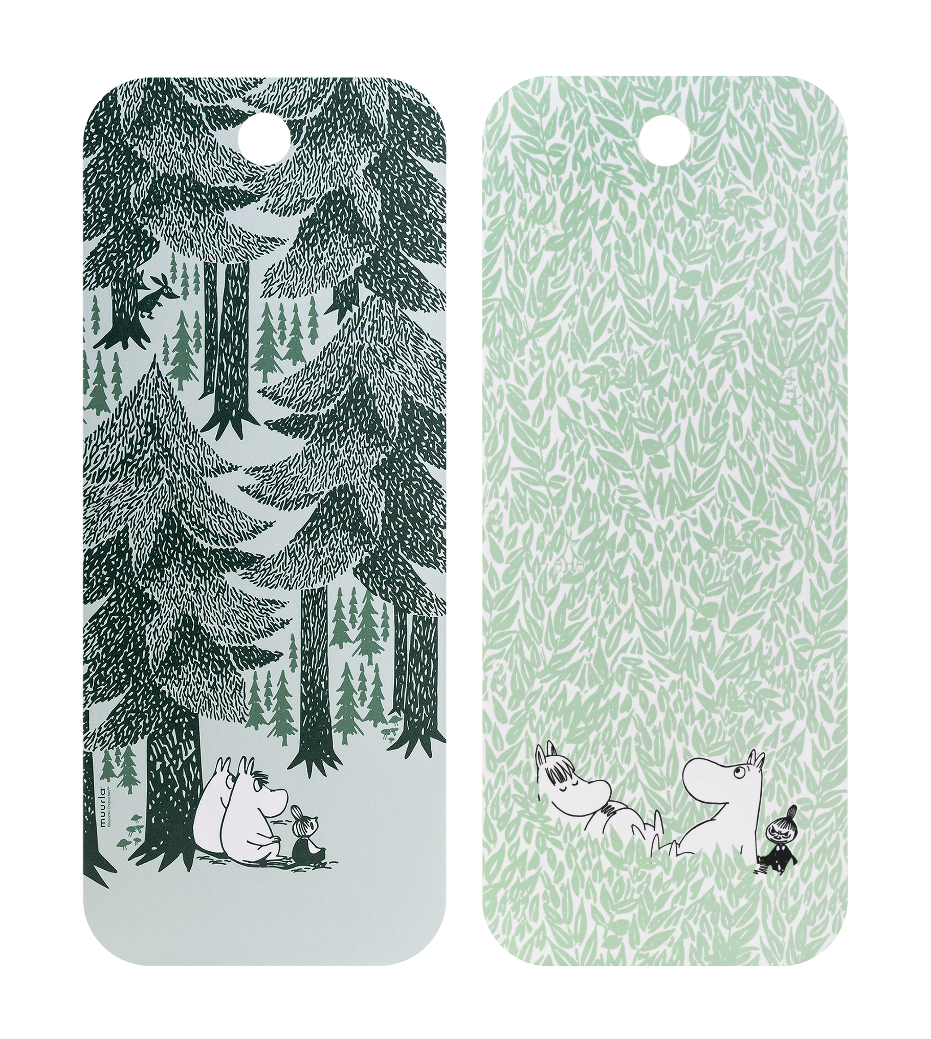 Moomin by Muurla - In the depth of the forest - Chop & Serve board 18x44cm