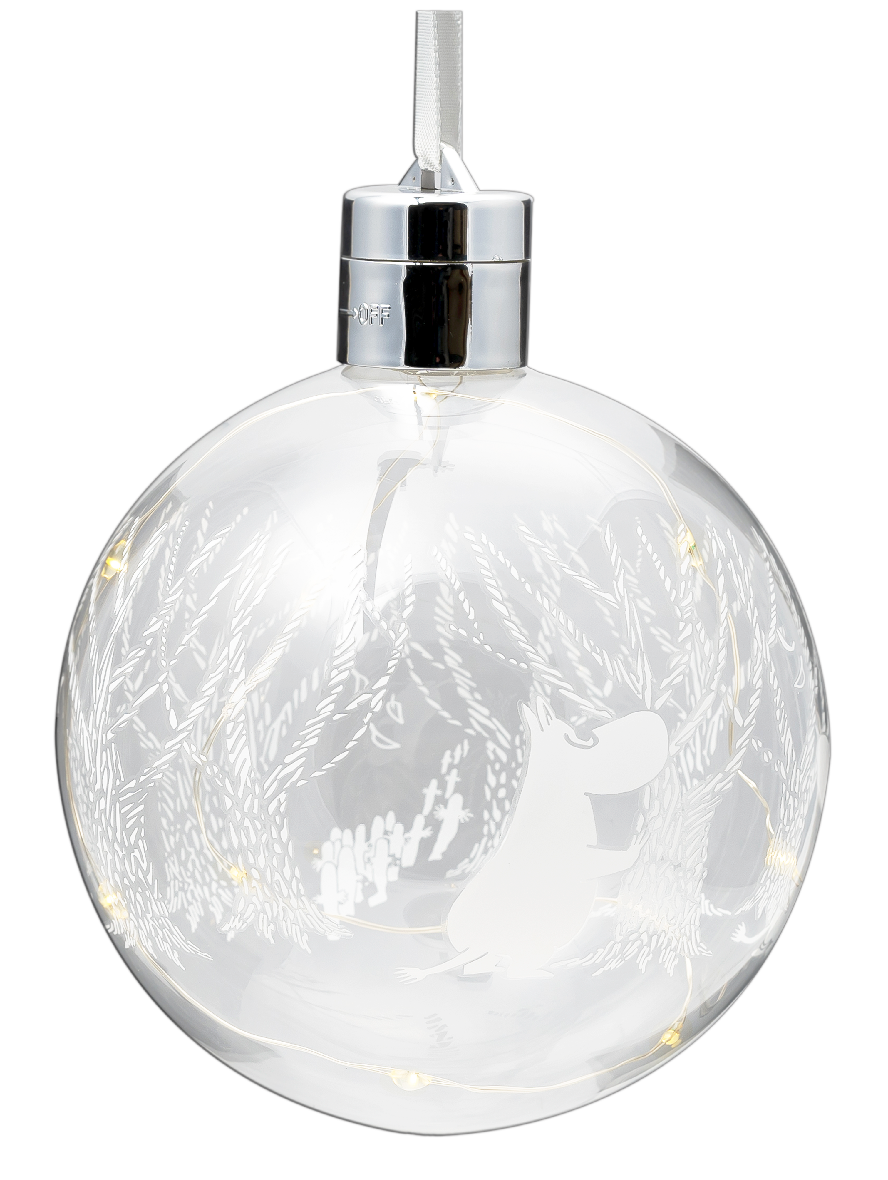 Moomin by Muurla In the Woods LED decoration ball 11 cm