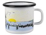 Muurla Mellow Wind enamel mug 2,5dl