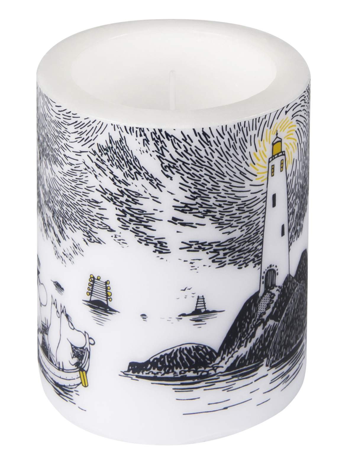 Tallink Silja Moomin by Muurla - Night sky candle 12 cm