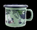 Muurla Moomin Summer enamel mug 2,5 dl