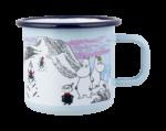 Muurla Moomin Winter enamel mug 3,7 dl