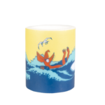 Muurla Moomin #OURSEA candle 12 cm