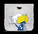 Muurla Moomin #OURSEA felt basket