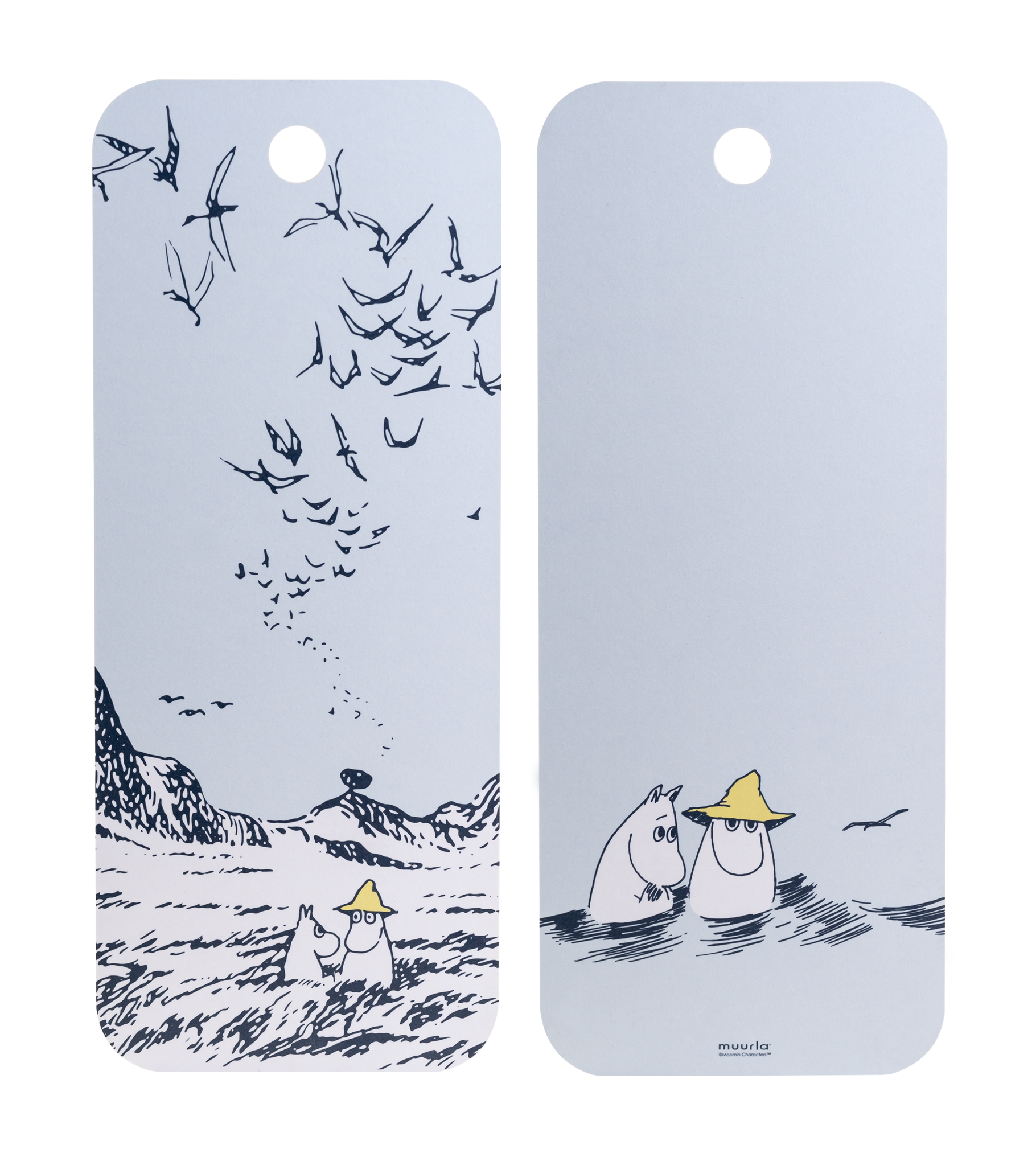 Moomin Originals by Muurla - Lighthouse Island - Chop & Serve board 18x44cm