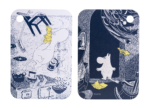 Moomin Originals by Muurla - The Unfamiliar home - Chop & Serve board 21x31cm