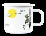 Muurla Moomin Originals Daydreaming enamel mug 3,7 dl