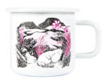 Muurla Moomin Originals Nap at the meadow enamel mug 3,7 dl