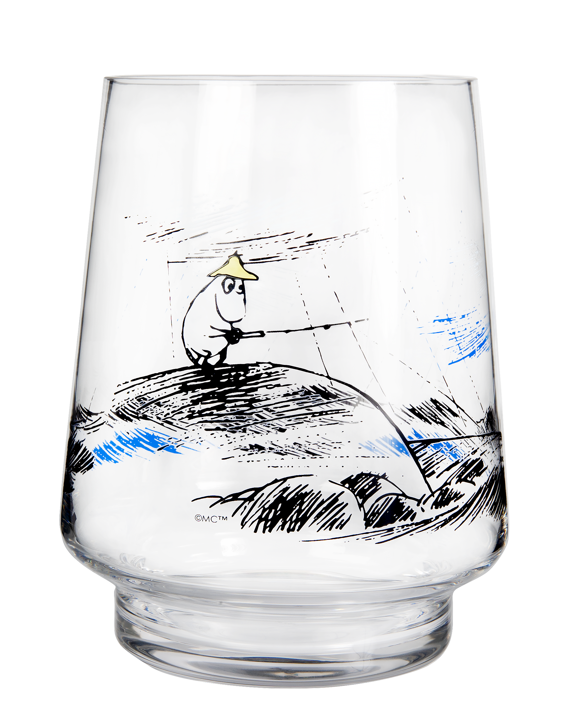 Muurla Moomin Originals Gone fishing candle lantern / vase 20cm