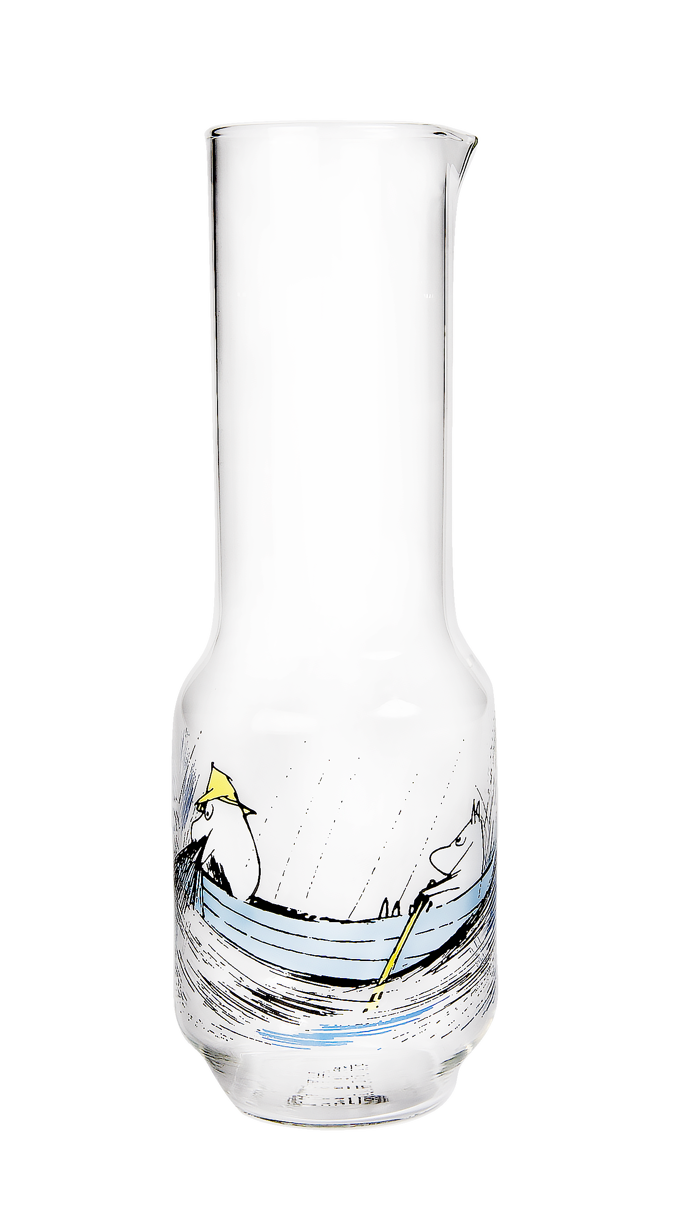 Muurla Moomin Originals Gone fishing Glass pitcher 1,2L