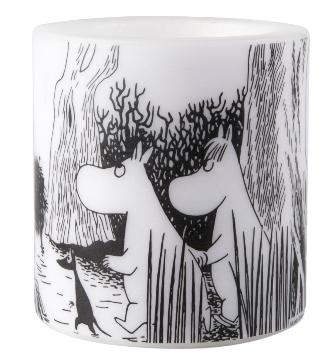 Muurla Moomin Secret place candle 8cm