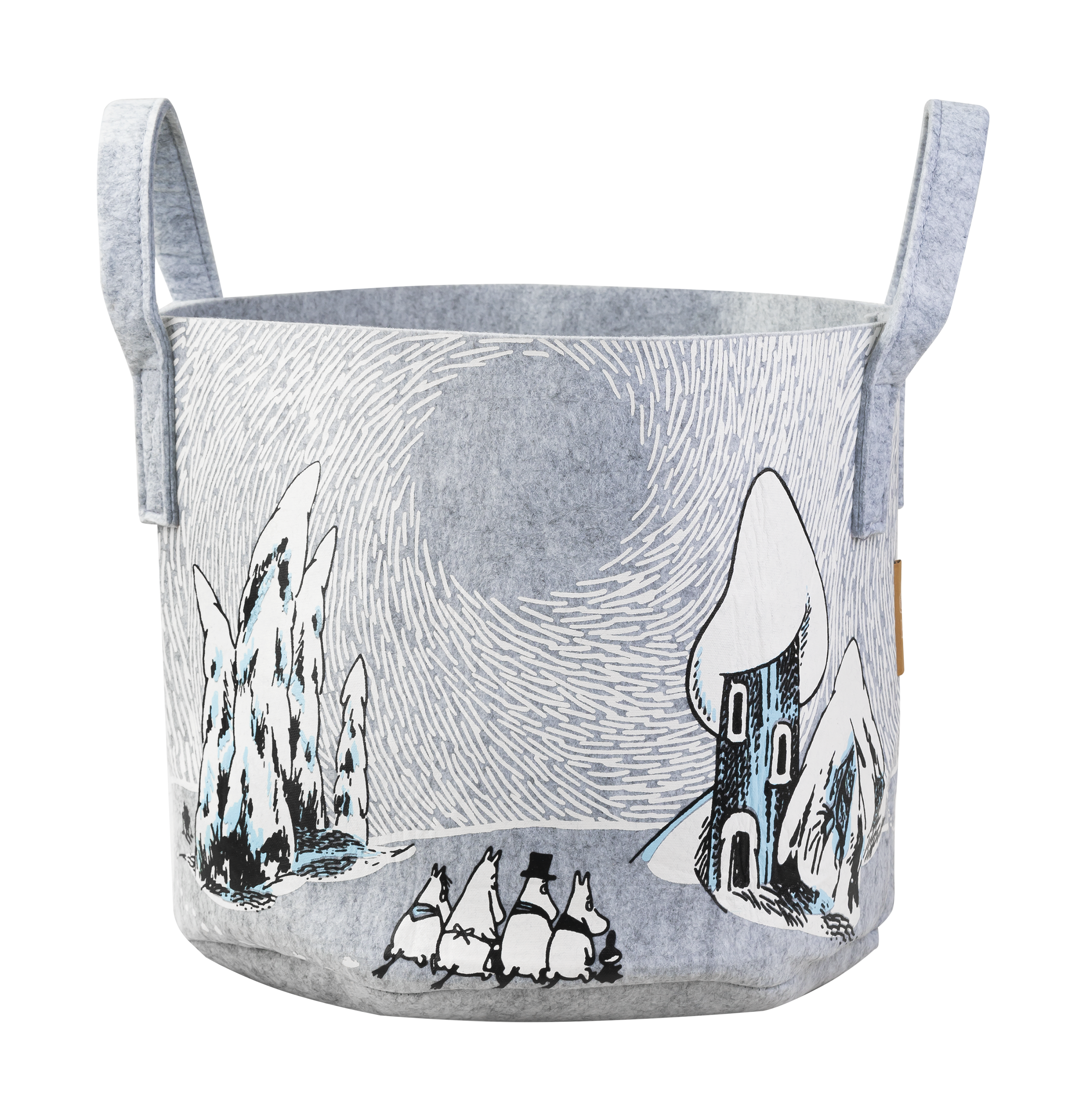 Moomin by Muurla Snowy Valley Storage basket 30 L