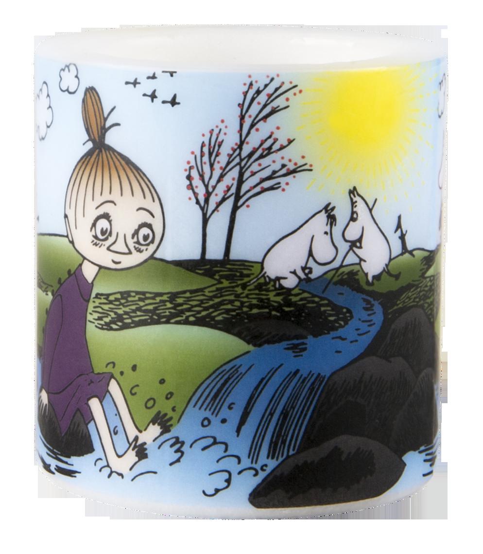 Muurla Moomin Spring candle 8cm