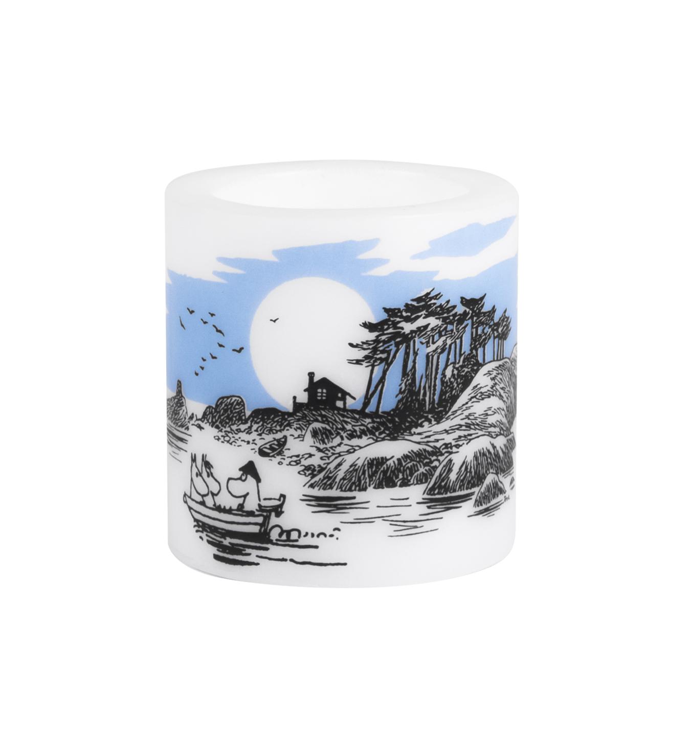 Muurla Moomin Island candle 8cm