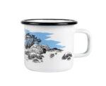 Muurla Moomin Island enamel mug 3,7 dl