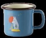 Muurla enamel mug 1,5dl Vintage Moomin