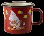 Muurla enamel mug 3,7dl Vintage Moominmamma
