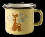 Muurla enamel mug 2,5dl Vintage Sniff