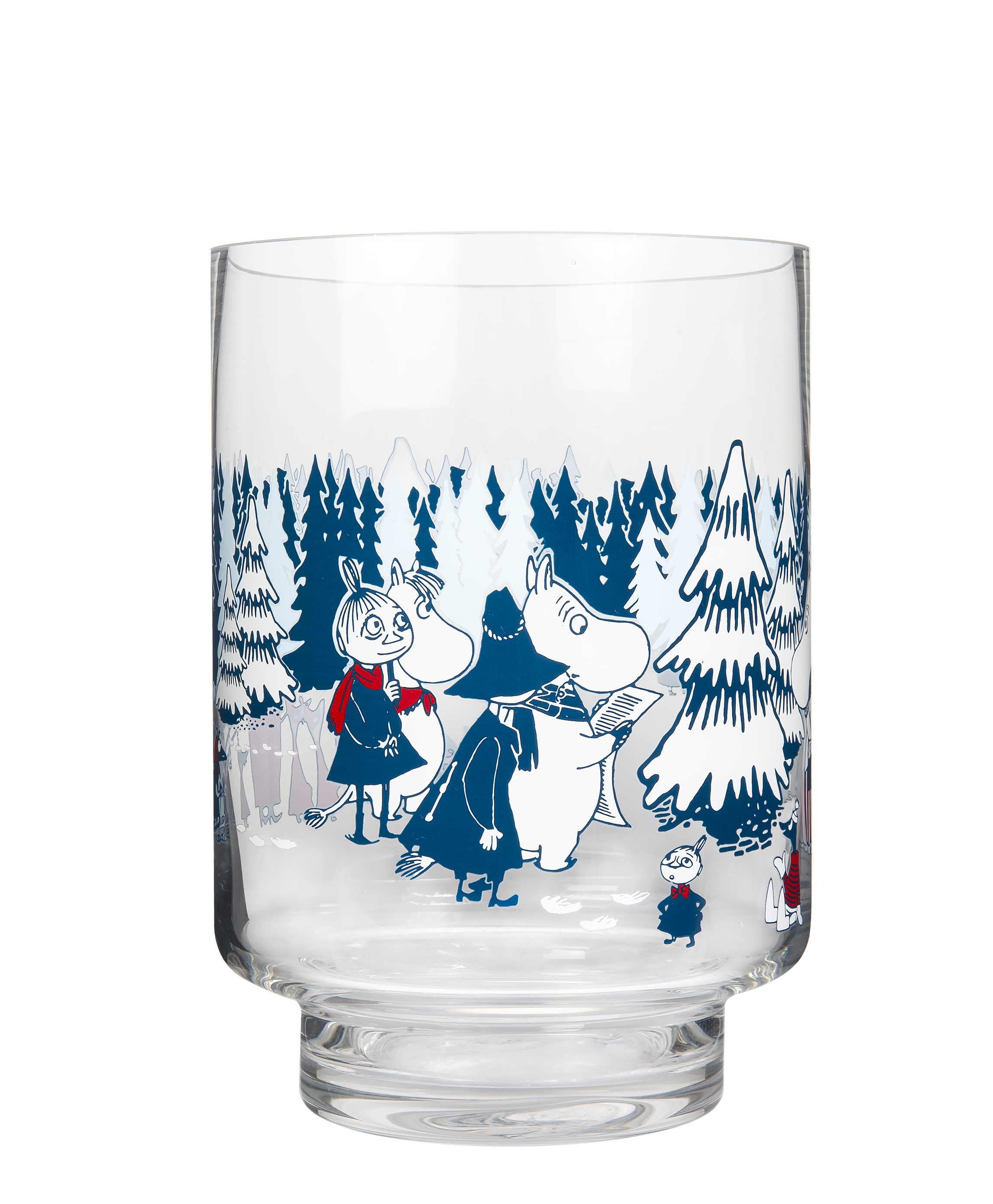 Muurla Moomin Winter Forest hurricane 20 cm