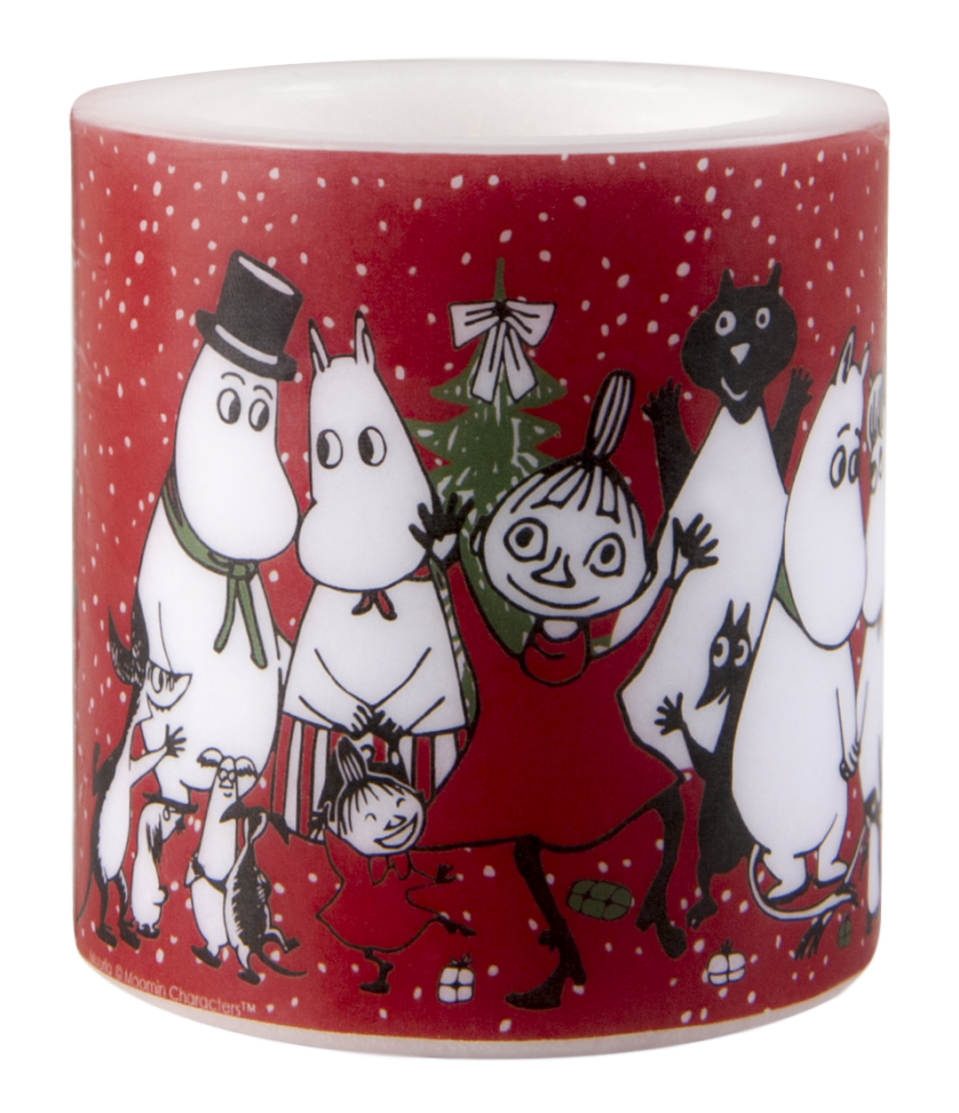 Muurla Moomin Winter Magic candle 8cm