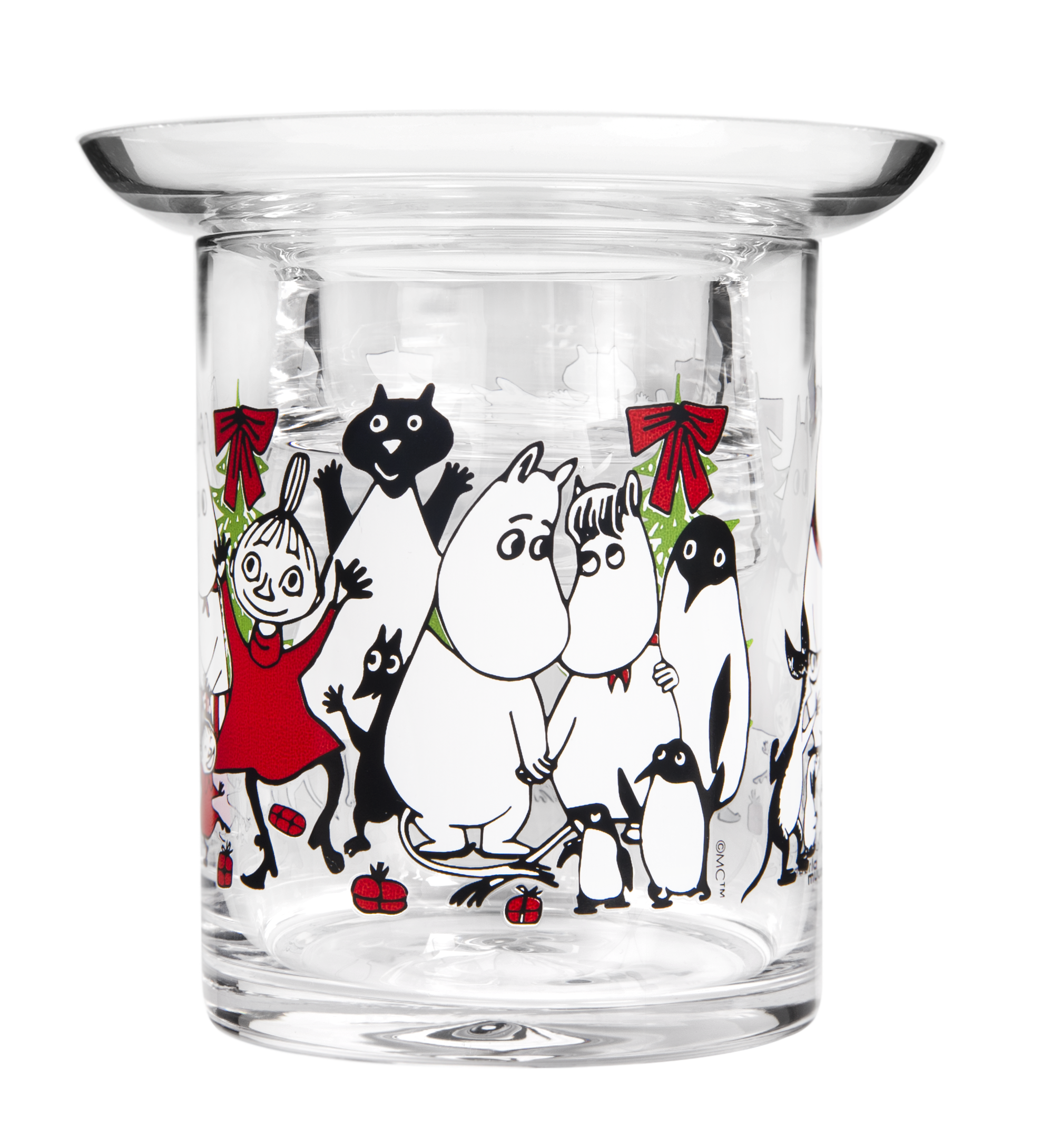 Muurla Moomin Winter Magic tealight holder 10 cm