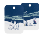 Moomin by Muurla - Winter Night Chop & serve board 21 x 31 cm
