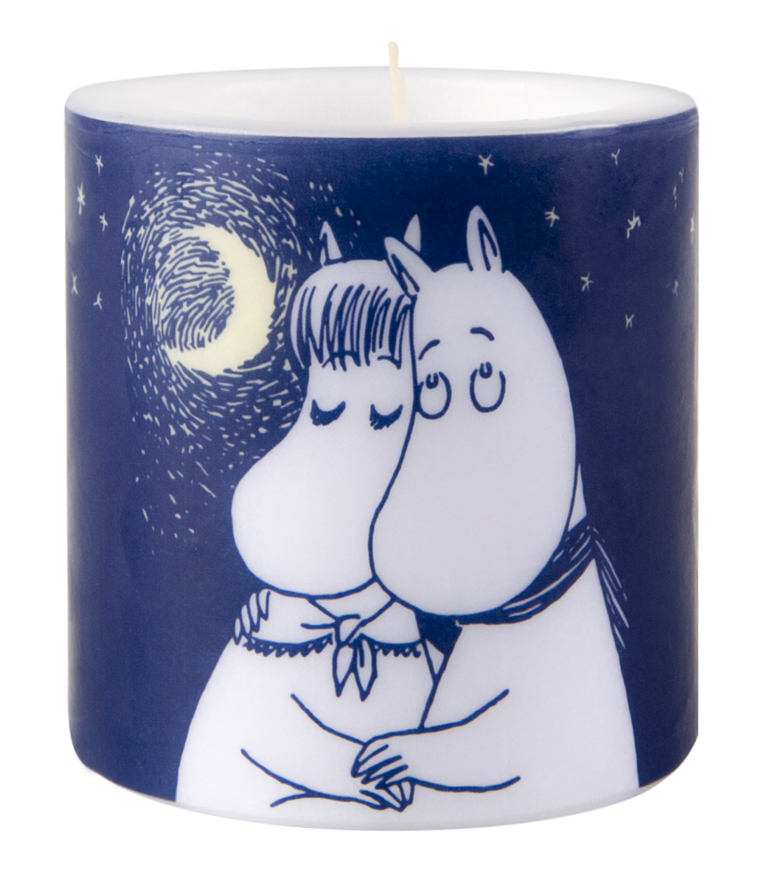 Muurla Moomin Winter Romance candle 8cm