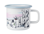 Muurla enamel mug 3,7dl Winter Time