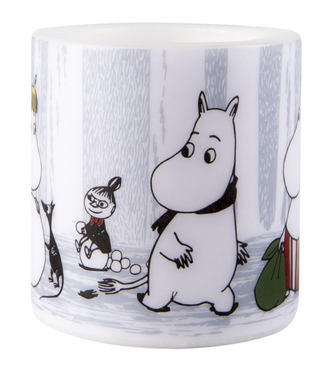 Muurla Moomin Winter Trip candle 8cm
