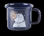 Muurla Enamel mug 1,5dl Winter Romance