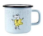 Muurla Moomin by Makia Rain enamel mug 3,7dl