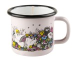 Muurla candle in 1,5dl enamel mug, Shared Moment
