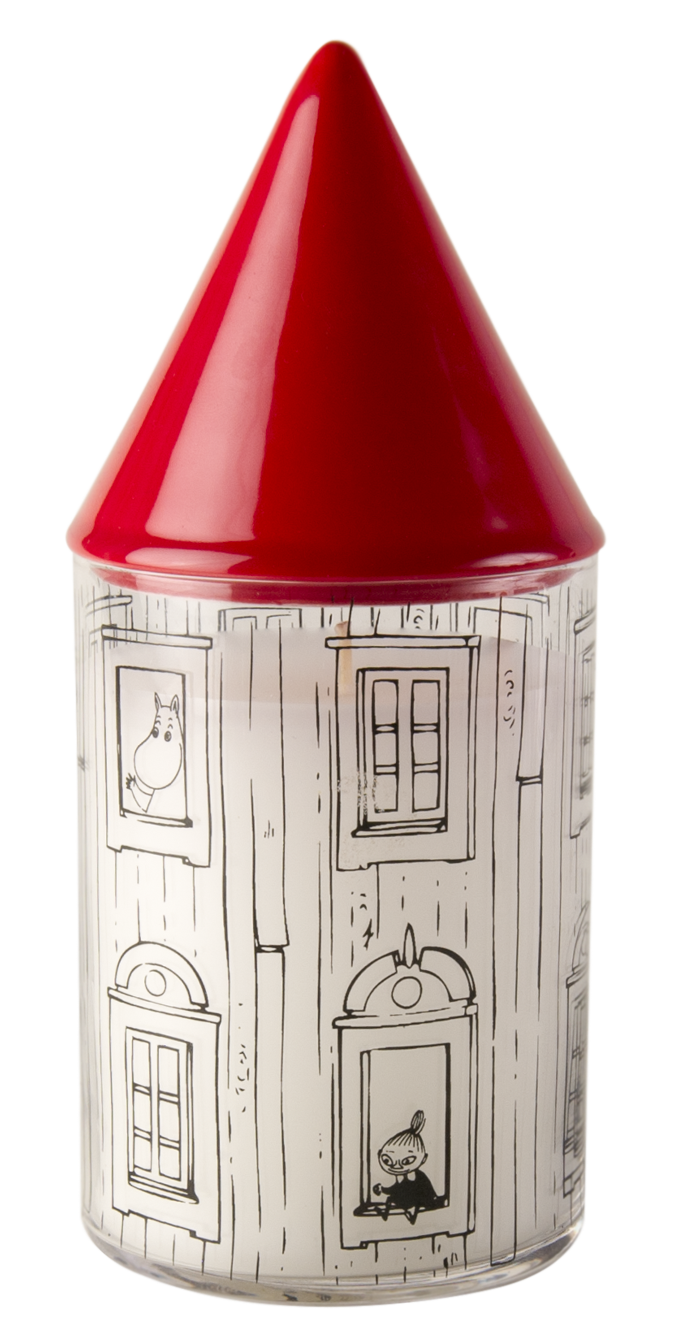 Muurla Moominhouse candle with extinguisher