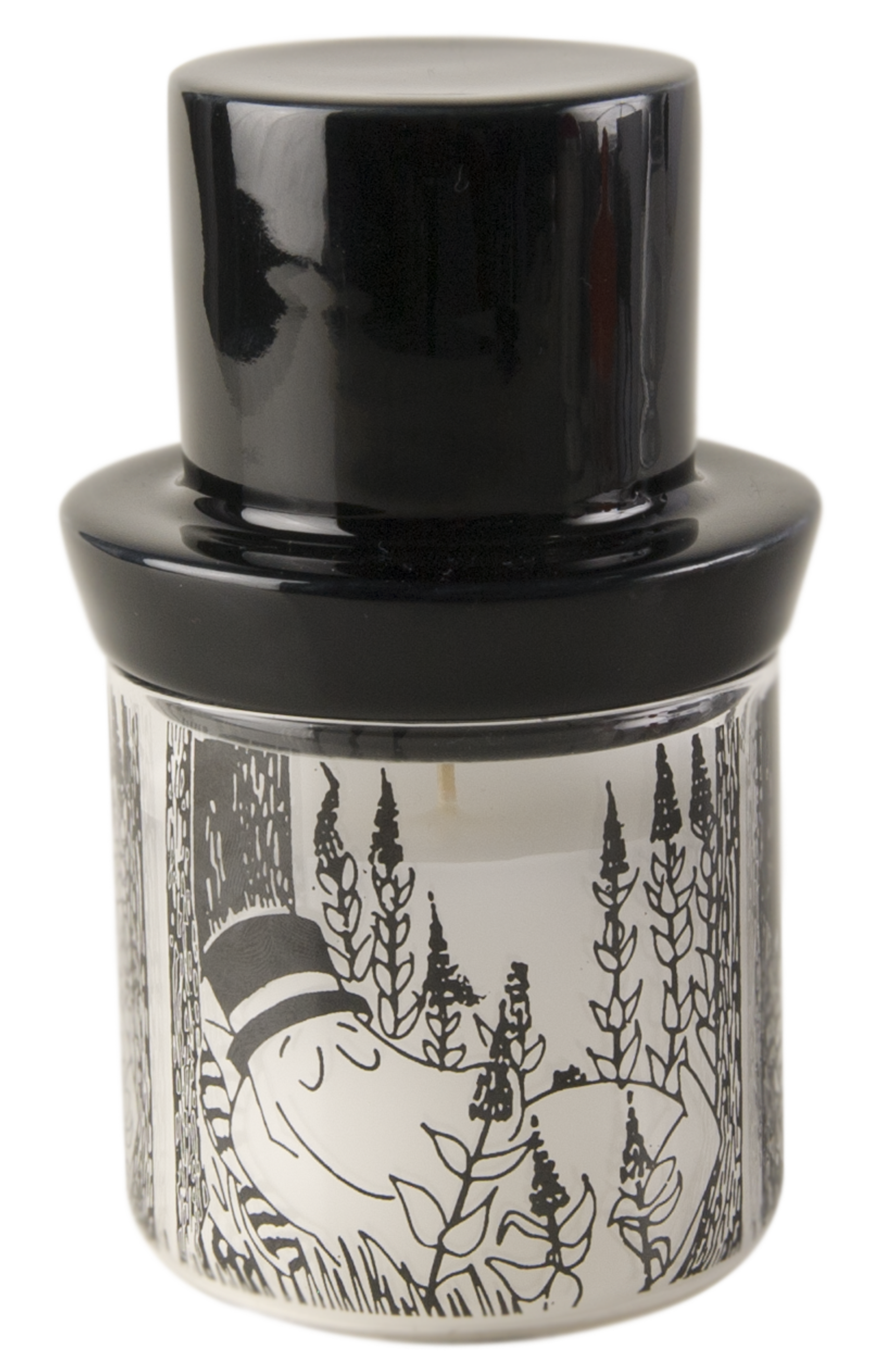 Muurla Moominpappa candle with extinguisher
